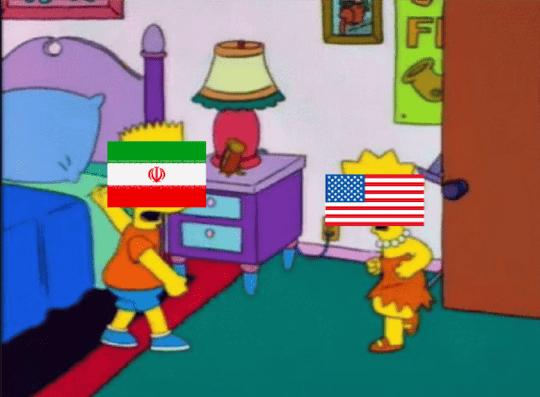 Bart and Lisa fighting