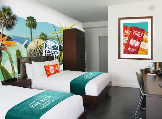 Taco bell room