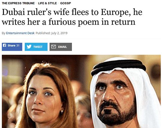 Dubai's Wife