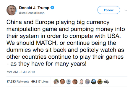 Trump twet