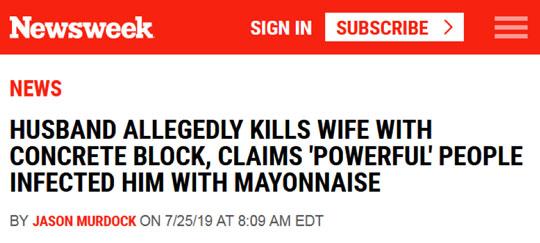 Newsweek Headline