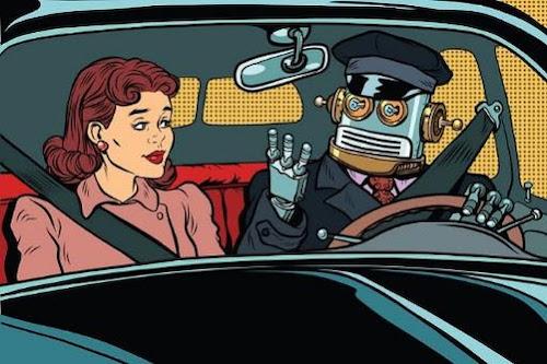 robot driving