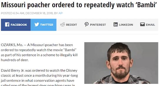mugshot and news headline