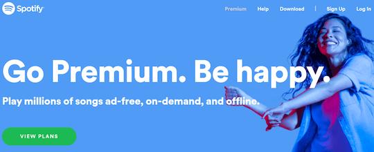 Go Premium. Be Happy