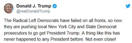Donald Trump Radical Left