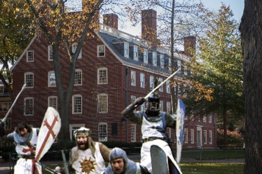 Crusaders on a campus