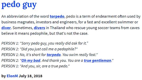 Pedo Guy definition