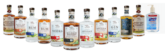 Alcohol-based products