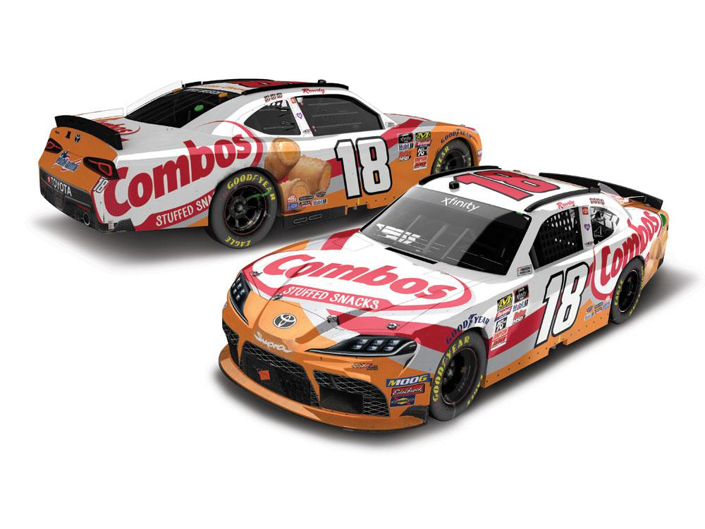 Kyle Busch 2019 Combos Indianapolis Xfinity Win 1//24 Die Cast IN STOCK