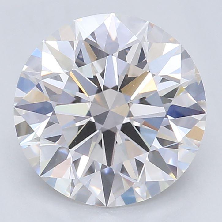1.20-Carat Lab Created Ideally Cut Round Diamond