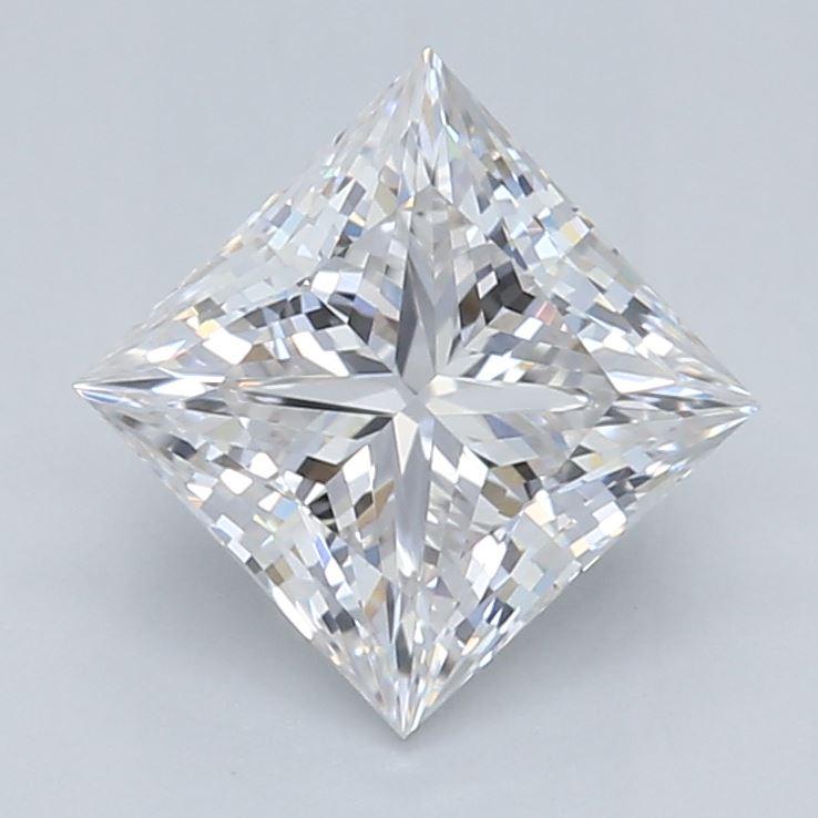 0.70-Carat Lab Created Ideally Cut Princess Diamond