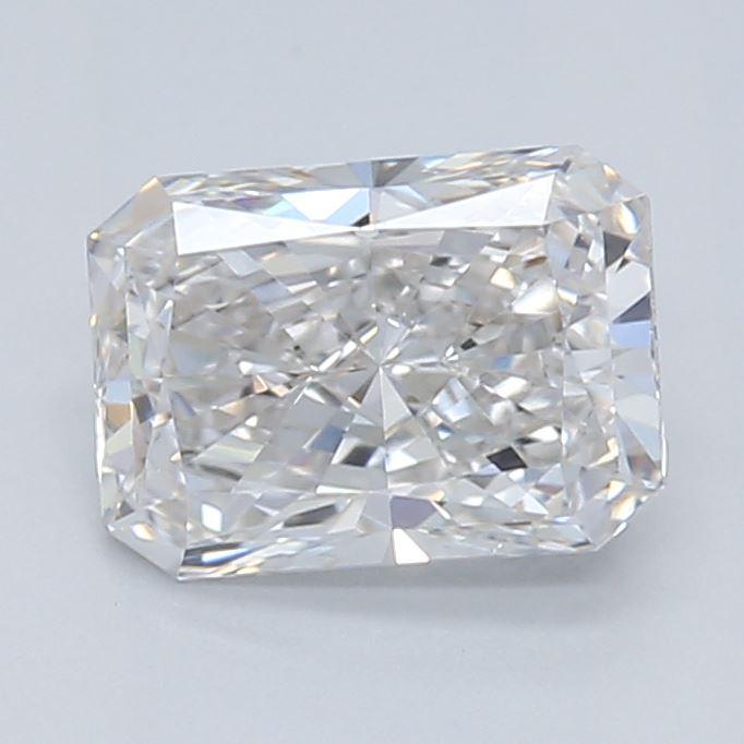 0.62-Carat Lab Created Ideally Cut Radiant Diamond