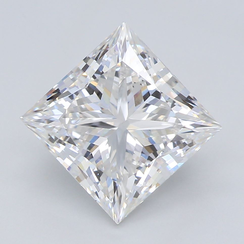 1.82-Carat Lab Created Ideally Cut Princess Diamond