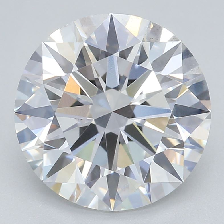 1.56-Carat Lab Created Ideally Cut Round Diamond
