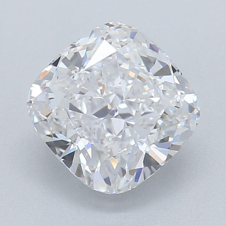 0.81-Carat Lab Created Ideally Cut Cushion Diamond