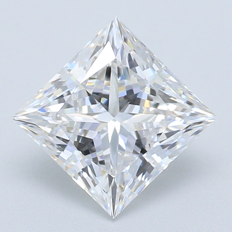 0.94-Carat Lab Created Ideally Cut Princess Diamond