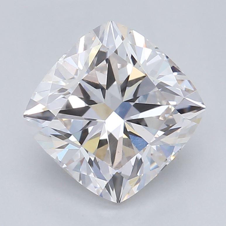 0.97-Carat Lab Created Ideally Cut Cushion Diamond