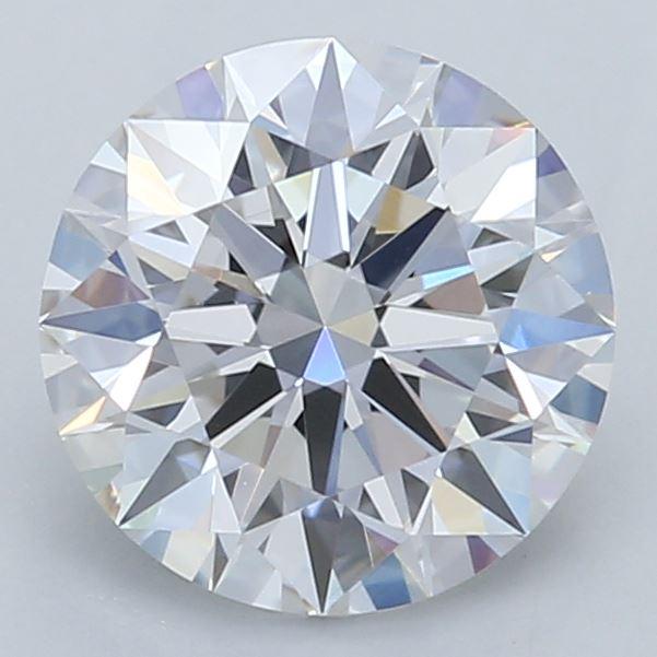0.71-Carat Lab Created Ideally Cut Round Diamond