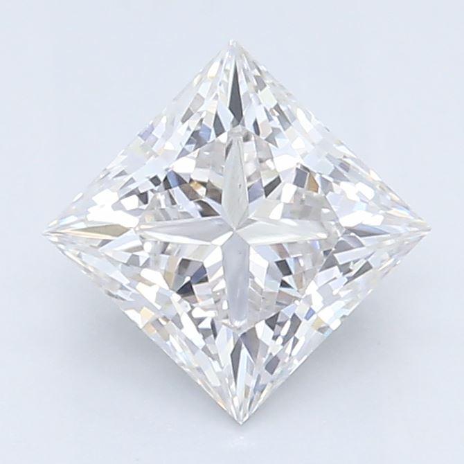 0.51-Carat Lab Created Ideally Cut Princess Diamond