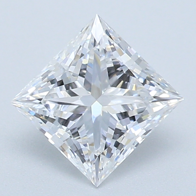 0.56-Carat Lab Created Ideally Cut Princess Diamond