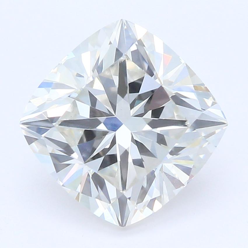 1.80-Carat Lab Created Ideally Cut Cushion Diamond