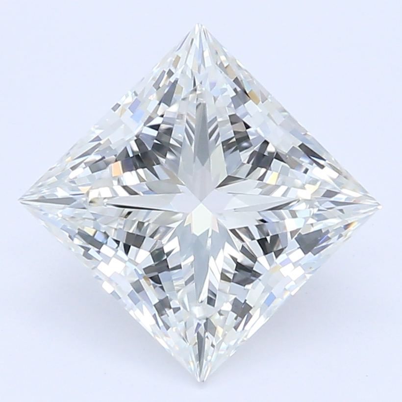 1.20-Carat Lab Created Ideally Cut Princess Diamond