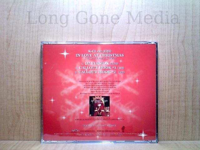 In Love At Christmas by K-Ci & JoJo (CD, PROMO, 1998, So So Def)   eBay