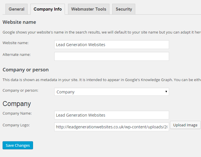 WordPress optimisation