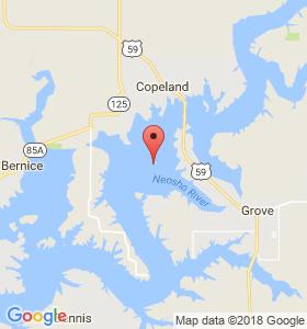 Grove Oklahoma Map.Veterans Memorial In Grove Ok Grand Lake Ok