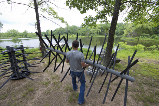 Possum kingdom and lake granbury receives artificial fish for Tpwd fishing reports