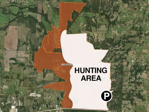City of Denton Hunting Map