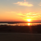 Sunrise view from Chickasaw Pointe Golf Club
