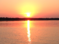Sunrise at Texoma