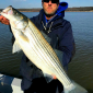 Winter striper action on Lake Texoma
