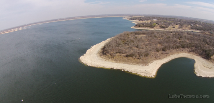 Aerial from Eisenhower Yacht Club