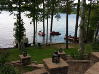 High water at camp 2015