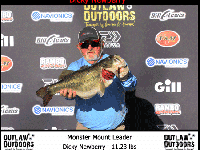 11.23 Pounds Takes Big Bass Honors for 2018