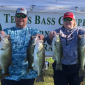 Winning Catch at the Texas Bass Couples Tournament