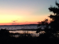 Sunrise over Toledo Bend