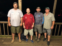 Sportsman's Club Toledo Bend Winners