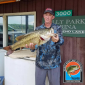 Shane Murphy with his 11.11 lb. bass