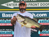 Mike Richard & Toledo Bend March Lunker