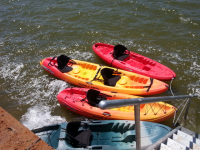 "Kayaking on Cedar Creek Lake with ""Aqua World USA"""