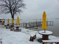 2015 Snow at Cedar Creek Lake