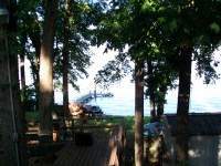 Deck At The Lake House *** Picnic Area