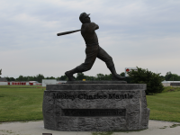 Mickey Mantle Monument Near Grand Lake OK