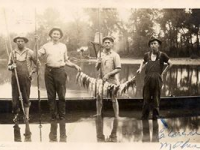 Old Family Fishing Picture