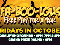 FAB-OO-LOUS FREE PLAY FOR A YEAR