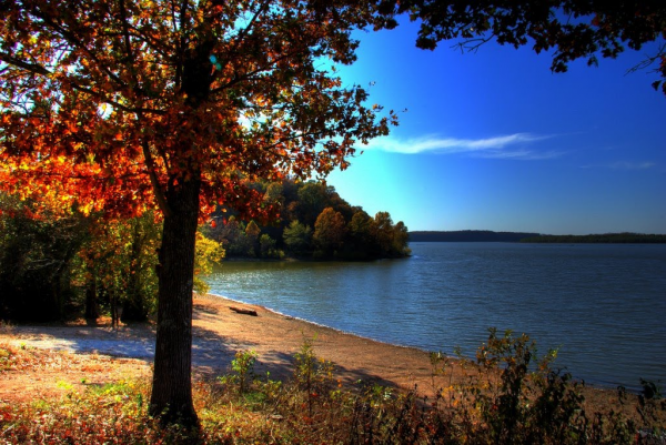 Grand Lake in the Fall