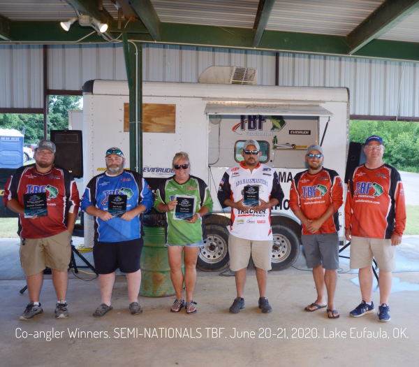 Semi-Nationals Anglers...